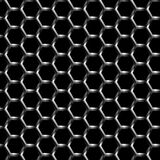 Metal Grill Background Pattern Seamless Stock Photo