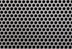 Metal grill dot pattern Royalty Free Stock Image