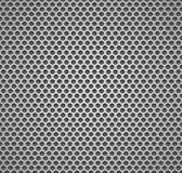 Metal grill seamless pattern. Royalty Free Stock Photos