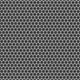 Metal grill seamless pattern background. Vector illustration Stock Photography