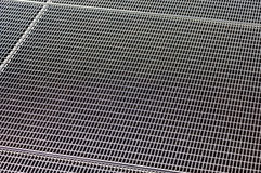 Metal grill texture with holes Royalty Free Stock Image
