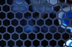 Metal Grille. Royalty Free Stock Image