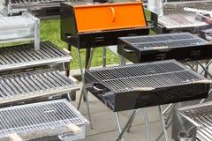 Metal grills Stock Image