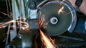 Metal Grinder stock footage