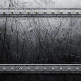 Metal grunge background Stock Photos
