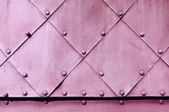 Metal grunge background in light pink colors Stock Photo