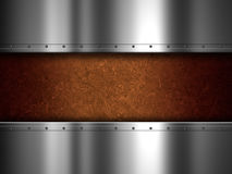 Metal and grunge background Stock Photo