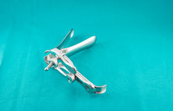 Metal Gynecologic Speculum Royalty Free Stock Photography