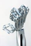 metal hand Stock Photo