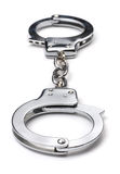 Metal Handcuffs Royalty Free Stock Photo