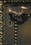 Metal handle Stock Photo