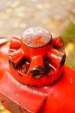 Metal handle Stock Images