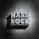 Metal HARD ROCK background Stock Photography