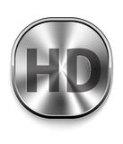 Metal HD Icon Royalty Free Stock Photos