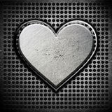 Metal heart Stock Photos