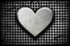 Metal heart stock photos