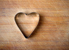 Metal heart Royalty Free Stock Images
