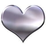 Metal Heart vector illustration