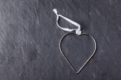 Metal heart Royalty Free Stock Photos