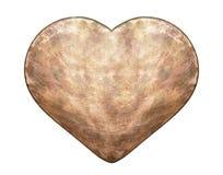 Metal heart Royalty Free Stock Photos