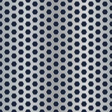 Metal hexagon perforated texture Stock Images