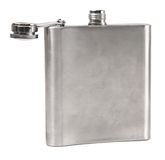 Metal Hip Flask for Liquor Royalty Free Stock Images