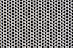 Metal hole background Stock Image