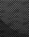 Metal hole texture Royalty Free Stock Image