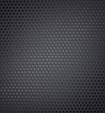 Metal holed or perforated grid background Stock Photos