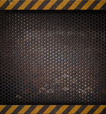 Metal holed or perforated grid background Royalty Free Stock Photo
