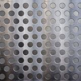 Metal with holes. A background of metal with holes Royalty Free Stock Images
