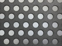 Metal with holes Stock Photo