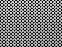 Metal holes background Stock Photography