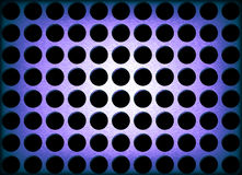 Metal Holes Background Royalty Free Stock Image