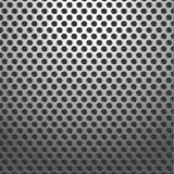 Metal Holes Plate Background Seamless Royalty Free Stock Image