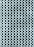 Metal holes texture Royalty Free Stock Photography