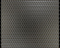 Metal honeycomb background Royalty Free Stock Photography