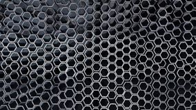 Metal honeycomb Royalty Free Stock Image