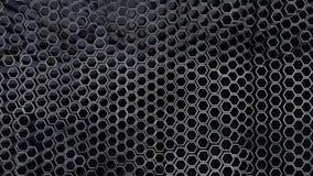 Metal honeycomb stock footage