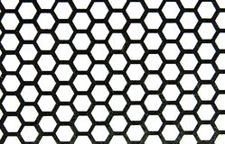 Metal honeycombs Royalty Free Stock Photography