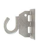Metal hook stock photo