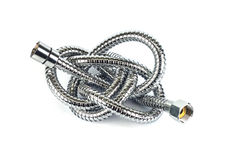 Metal hose pipe Royalty Free Stock Image