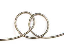 Metal hose pretzel Royalty Free Stock Images