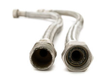 Metal hoses Stock Photography