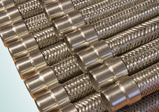 Metal hoses. Stock Image