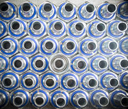 Metal hydraulic fittings Stock Image