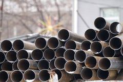 Metal il tubo Fotografie Stock Libere da Diritti