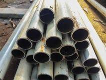 Metal il tubo Immagini Stock