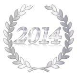 Metal of 2014 Royalty Free Stock Image