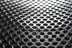 Metal holes Royalty Free Stock Photography